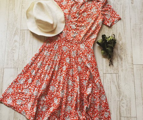 dress / floral