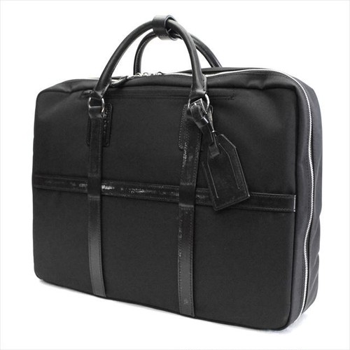 FIVE WOODS 「TRAFALGAR」 2WAY BRIEF BAG <BLACK>
