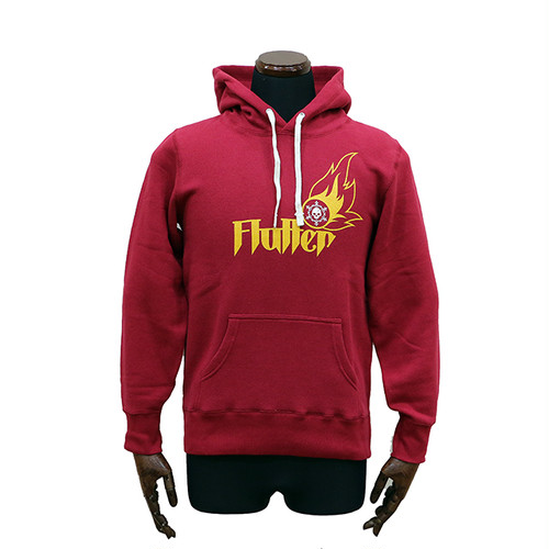 Flutter Pullover Hoodie red PH-01