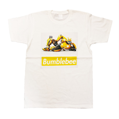【トランスフォーマー】映画:バンブルビー|ボックスロゴ Tシャツ