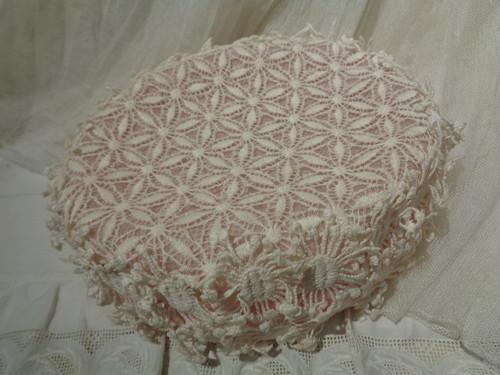 Flower lace dress hat フラワーレースドレスハット