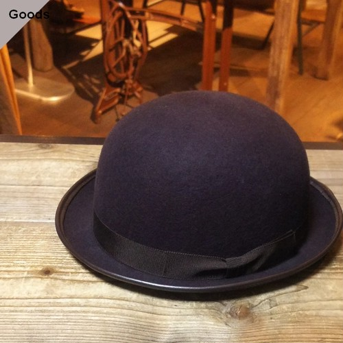 Orgueil ボーラーハット Bowler Hat  OR-7027 (BROWN)