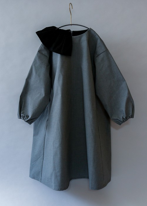 《michirico 2019AW》Dress / gray / S・M