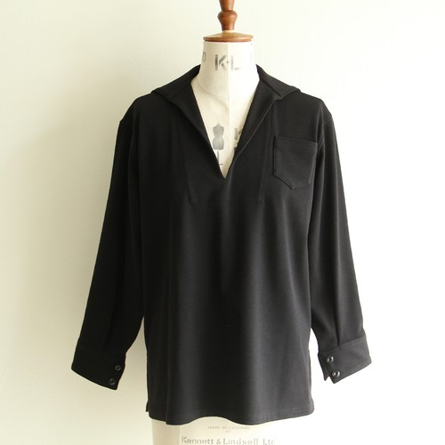 YOUNG&OLSEN 【 womens 】french jersey sailor shirts