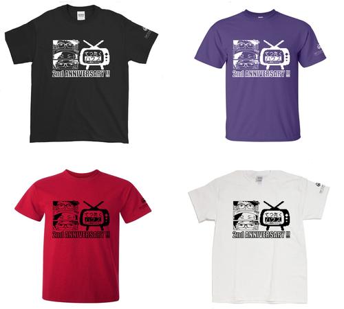 (新色追加・1月下旬発送) てつたくハウス × コントローラー 記念コラボTシャツ (全4色)