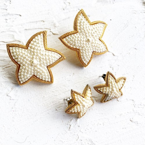 starfish vintage pierce (small)