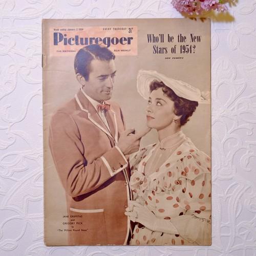 """1954年 イギリス映画雑誌 """" Picturegoer """"  1月2日号   [OV-12]"""