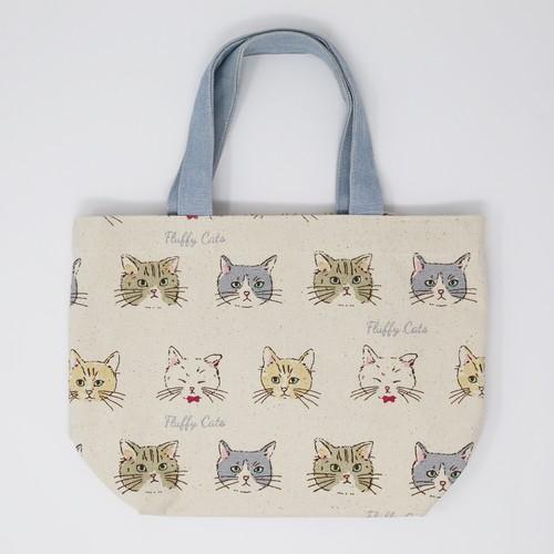 猫ミニトートバッグ(フラッフィキャッツ)