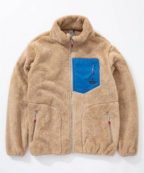 CHUMS(チャムス) Bonding Fleece Jacket (ボンディングフリースジャケット) Beige (ベージュ) CH04-1117