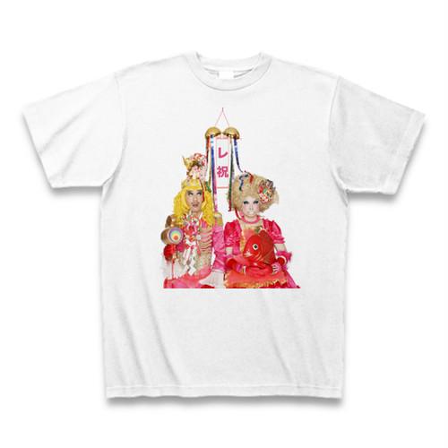 「レ祝」Tシャツ(ホワイト)