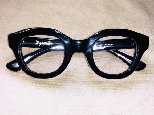 【NIGHTBEAT】 ナイトビート BUDDY GLASSES (BLACK)  眼鏡