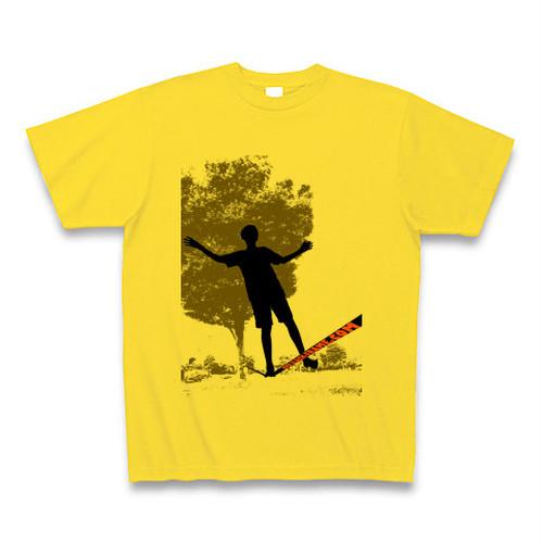 Slack-Frame Tシャツ #01 - マスタード
