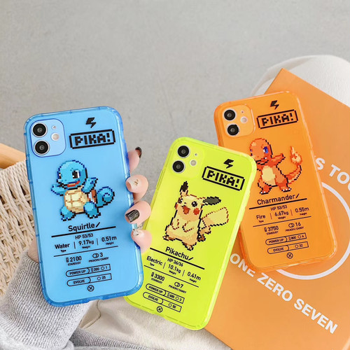 Neon color monster iphone case