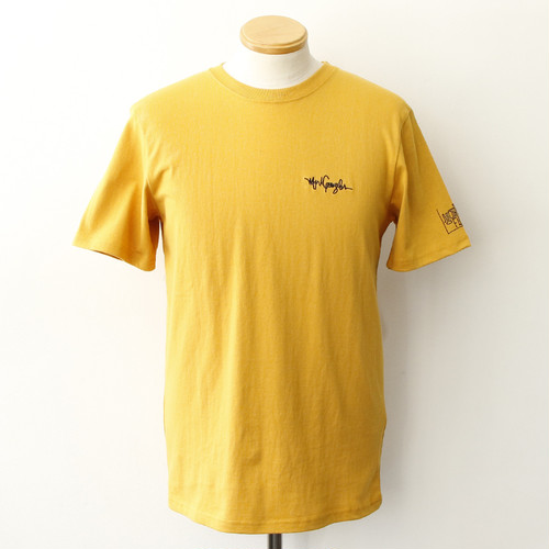 PHOTO ON DOT SS TEE (MUSTARD)