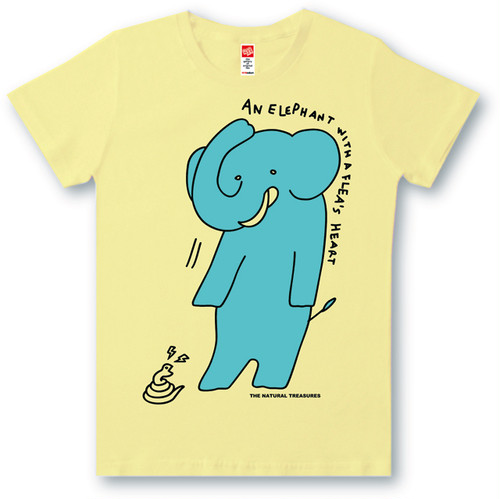 #472 Tシャツ FLEA'S HEART/YEL