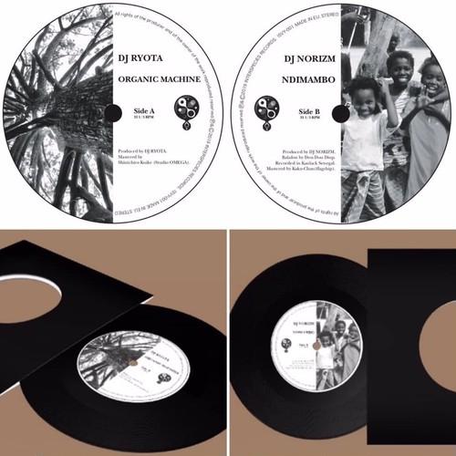 7'EP / DJ RYOTA, DJ NORIZM / Organic Machine, Ndimambo