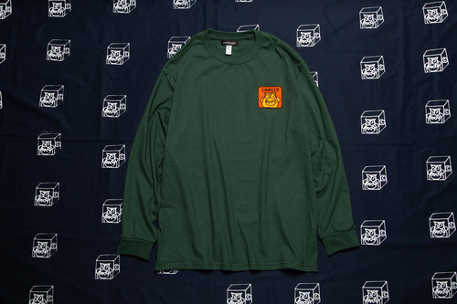 CRASTY L/S TEE (GREEN)