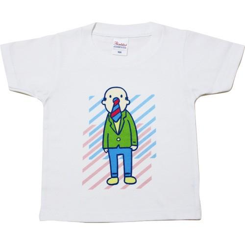 スリーネクタイブラザーズ(キッズサイズTシャツ)