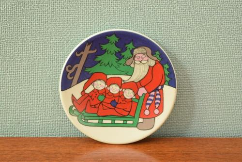 アラビアクリスマスプレート飾り皿【ARABIA/JULKORT】北欧 食器・雑貨 ヴィンテージ | ALKU