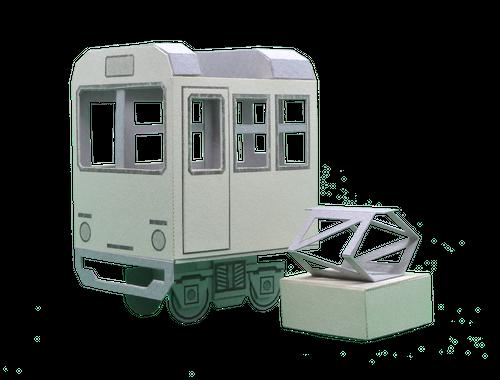 ぷちトレイン_通勤電車