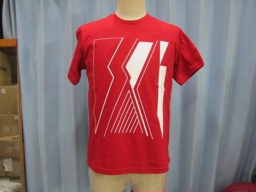 SAKI  BIGTシャツ RED