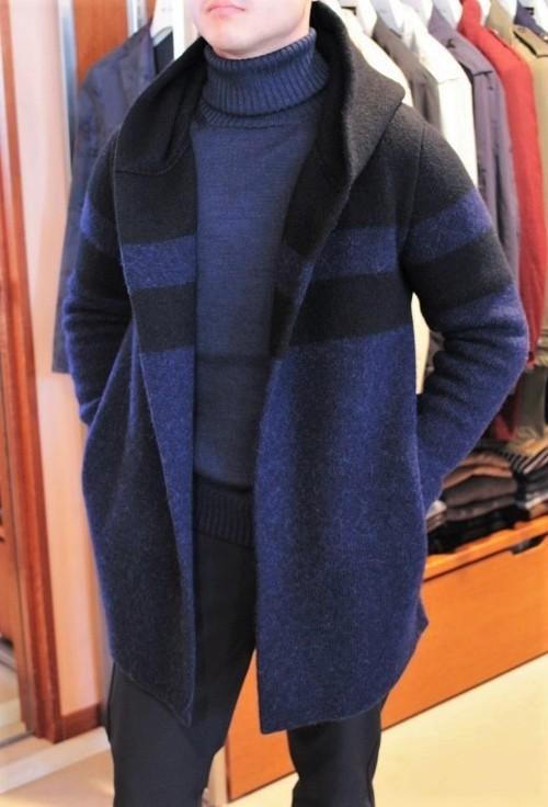 Vandori×CADETTO Exclusive Hooded Gown Coat
