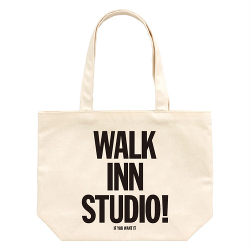 WALK INN TOTE BAG <ナチュラル>
