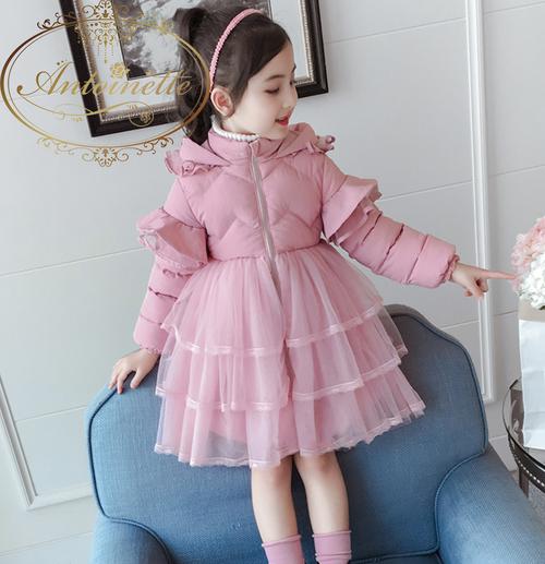 【即日発送 size120 SALE!!】コート おんなのこ ピンク あったかい 服 可愛い リボン 長袖 秋 冬 ワンピース リボン おでかけ フリル