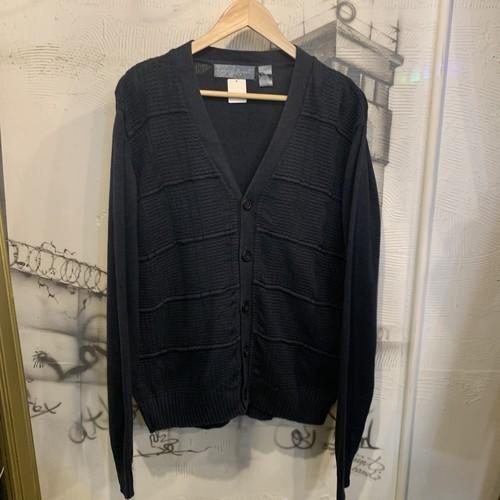 cotton acrylic  knit cardigan