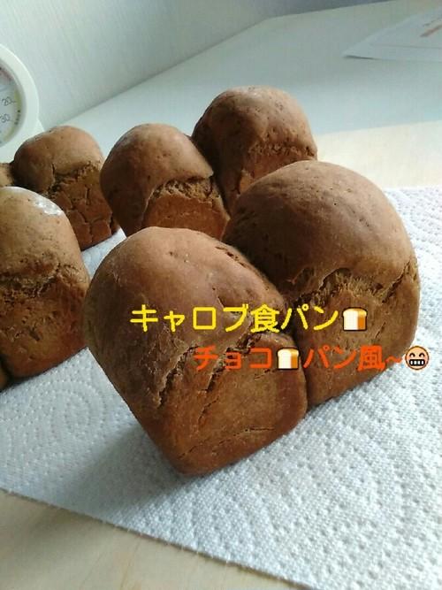 ワンにゃん食パン(キャロブ)