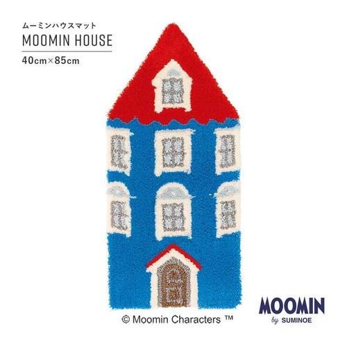 【最短3営業日で出荷】ラグマット ムーミン ムーミンハウスマット 40×85cm MOOMIN MOOMIN HOUSE スミノエ SUMINOE