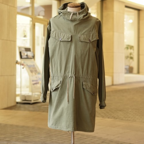OLD FRENCH ARMY SMOCK PARKA - 3