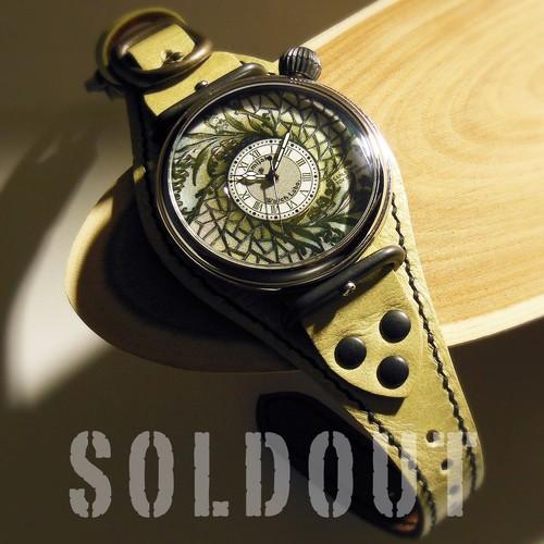 腕時計「花鳥風月 Ⅱ」TYPE-16 /  YOMOGI SILVER