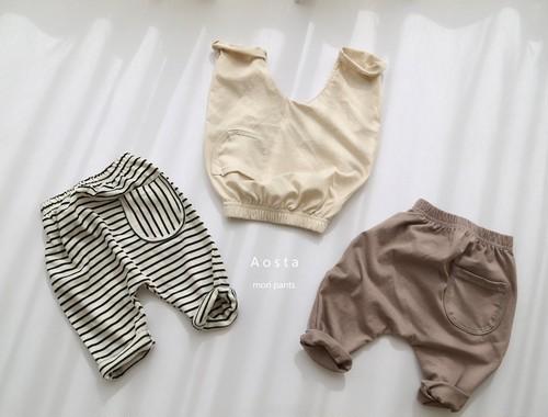 【予約販売】mori pants