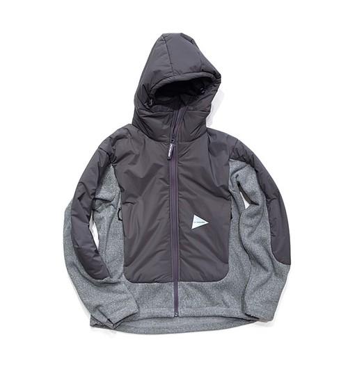 【and wander】top fleece jacket