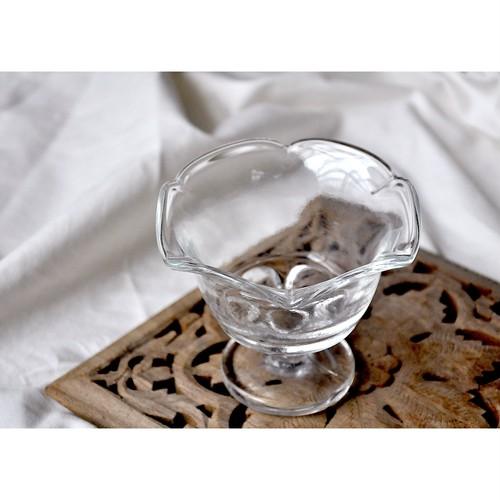 【 retro sundae glass(b) 】パフェグラス / サンデー / 喫茶 / vintage / japan
