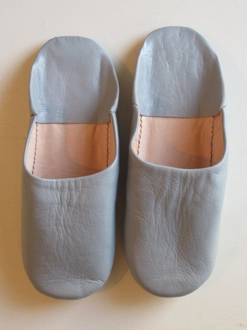 ROOM SHOES LADYSグレー