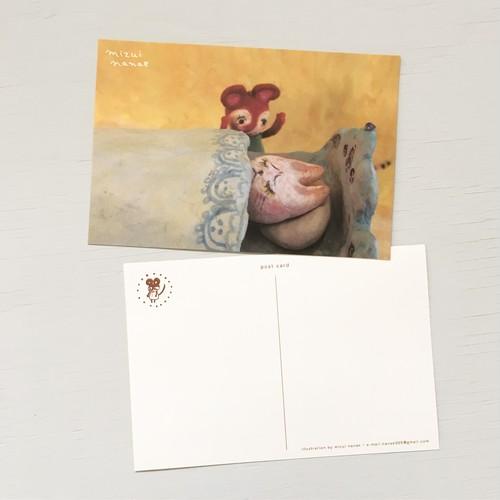 ポストカード(寝込むミルーナ)