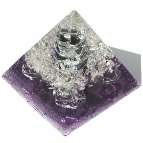 プレミアム ピラミッド クリスタルパープル