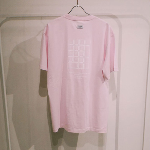 TENKI × A Man Collaboration Tee Pink × White