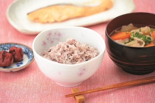 野の花 茶碗(桜・すみれ)