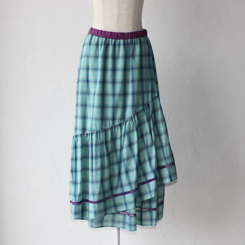 【MUVEIL】asymmetry skirt