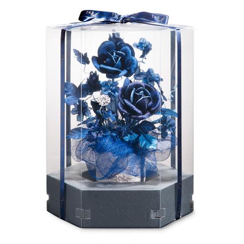 藍染花アレンジメント