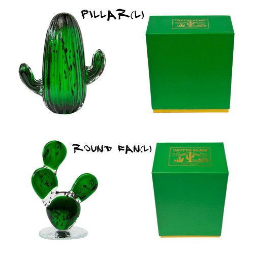 amabro / CACTUS GLASS ORNAMENT (L)