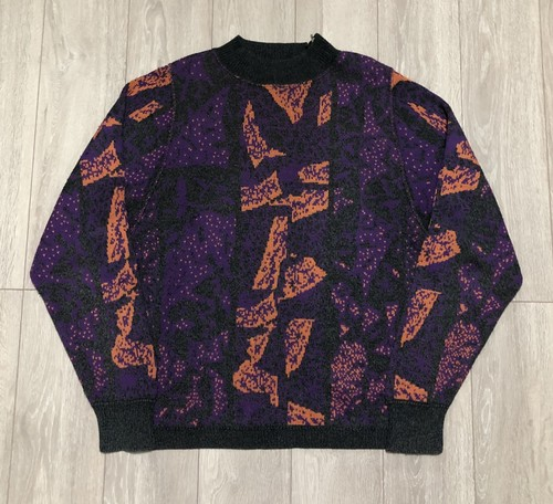 1990s MARITHE FRANCOIS GIRBAUD ABSTRACT PRINTED JUMPER
