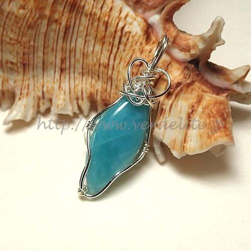 海の青 ラリマー W837