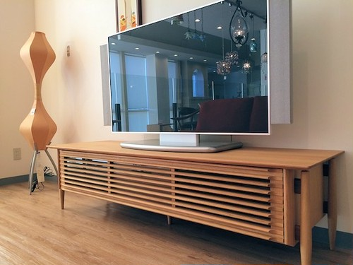 White Wood 1700TVボード