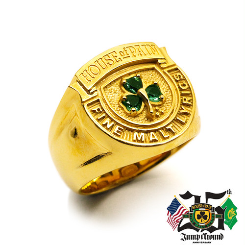 House of Pain Ring (24kt Gold Coating)