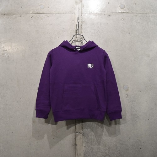 MFC STORE LOGO EMBROIDERY KIDS HOODED / PURPLE