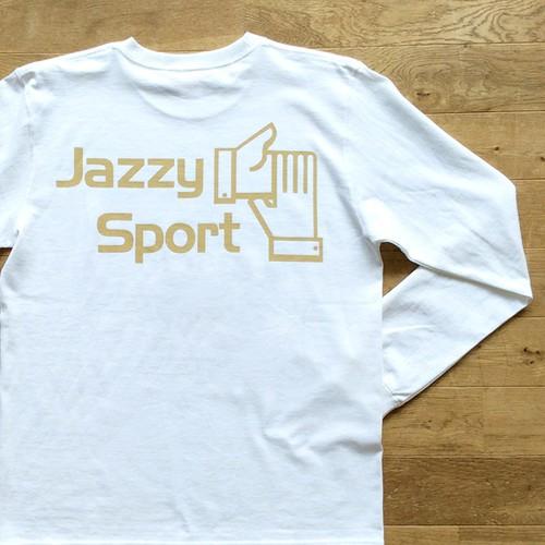 【秋限定】JS ロゴ ロングスリーブ Tシャツ/ホワイト